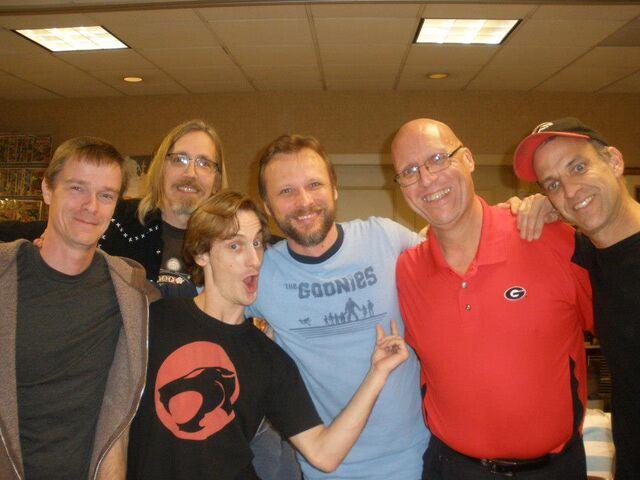 File:Dan Riker, Charlie Leach, William Hart, Michael Jaegers, Mark E. Teems, Mike Mundy..jpg