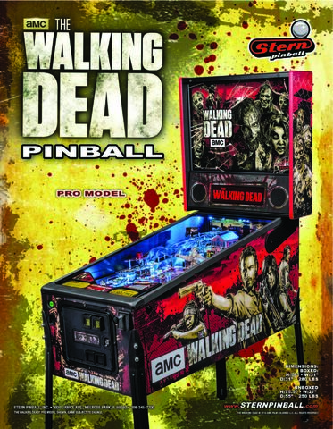 File:The Walking Dead Pinball Machine (Pro Edition) 5.jpg