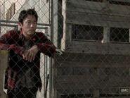 Glenn stares
