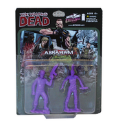 Abraham pvc figure 2-pack (purple)