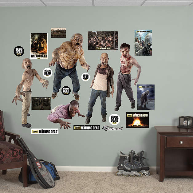 Image   Walkers Collection Fathead Wall Decals 2 | Walking Dead Wiki |  FANDOM Powered By Wikia Part 88