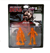 Jesus pvc figure 2-pack (translucent orange) 2