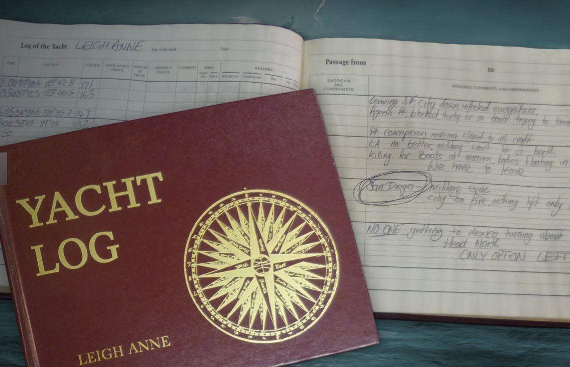 Leigh Anne log book