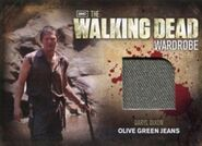 M27 Daryl Dixon Olive Green Jeans
