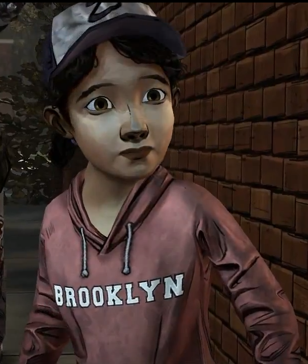 Image Ep4 Scared Clementine Png Walking Dead Wiki