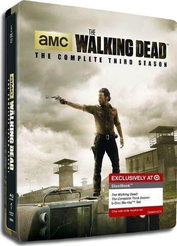 File:THE WALKING DEAD- THE COMPLETE THIRD SEASON Steelbook Blu-ray™.jpg