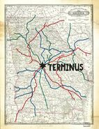 Terminus rail map