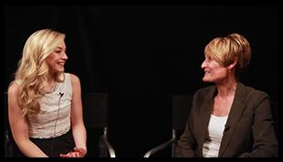 File:Emily Kinney with Joanne Christopherson.JPG
