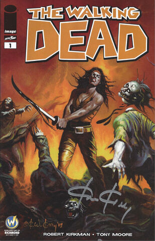 File:Issue 1 Wizard World Comic Con Richmond Exclusive Variant Cover signed by Ken Kelly.jpg
