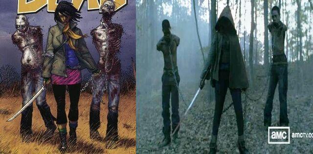 File:Michonne Comic and Tv.jpg