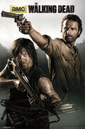 Walking Dead - Rick & Daryl