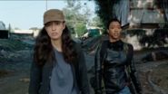 Sasha Williams Puts It Frank with Rosita 7x14 The Other Side