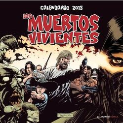 Calendario 2013 Los Muertos Vivientes
