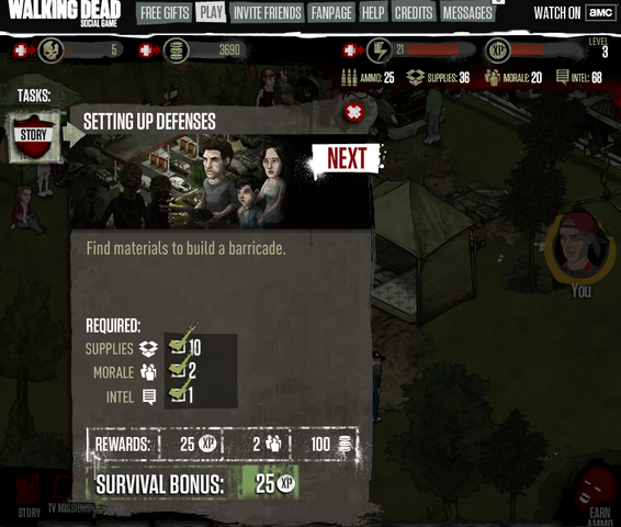 File:AMC The Walking Dead Social Game on Facebook().png