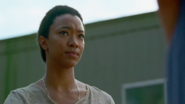 Sasha Williams 7x12 Speaking to Rosita