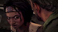 ITD Michonne Pissed Off