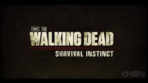 The Walking Dead Survival Instinct Gameplay Trailer 1