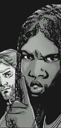 File:Michonne Hushing Aaron.png