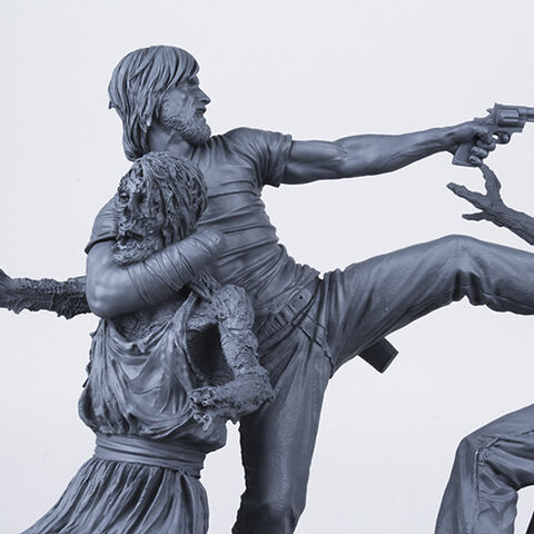 File:The Walking Dead Comic- Rick Grimes Resin Statue (Unpainted Artist's Proof) 2.jpg