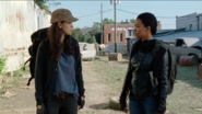 Sasha Williams Explains The Inevitability of Getting Caught 7x14 The Other Side