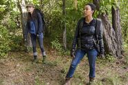 Sasha Williams and Rosita 7x14 The Other Side Promotional Still