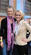 Melissa McBride and Kathryn Telford