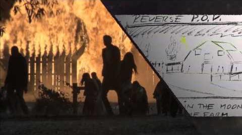 """THE WALKING DEAD Season 2 - Bonus Feature """"Fire On Set"""""""