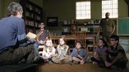 Carol e crianças