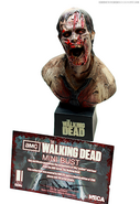 Deer Eating Zombie Mini Bust 6