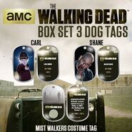The Walking Dead - Dog Tag (Season 2) - Set 3