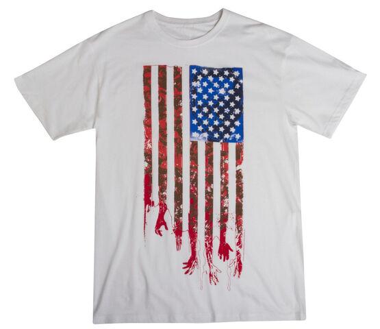 """File:THE WALKING DEAD """"FLAG"""" T-SHIRT (MENS).jpg"""