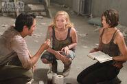Beth, Maggie, and Glenn