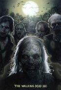 Drew Struzan's 2008 SDCC The Walking Dead Poster