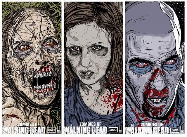 File:Zombies of The Walking Dead Series 2 Set.jpg