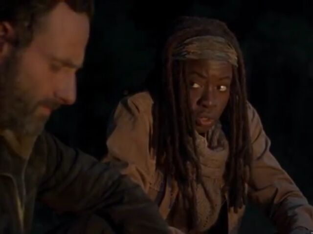 File:Michonne Rick Campfire (night).jpeg