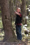 Austin Amelio as Dwight – The Walking Dead Season 6, Episode 15 – Photo Credit Gene PageAMC.