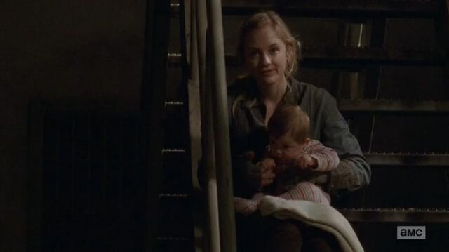 File:Beth looking at Rick while playing with Judith.JPG