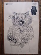 Lisa Hanawalt Print - The Walking Dead Shooting Target Prints