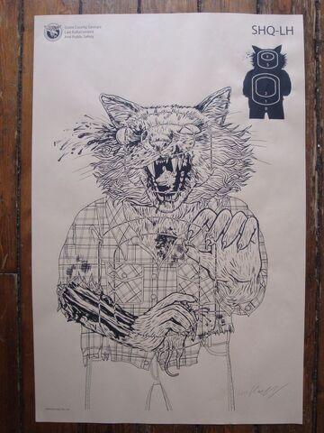 File:Lisa Hanawalt Print - The Walking Dead Shooting Target Prints.jpg