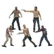 The Walking Dead Construction Figure Pack 1