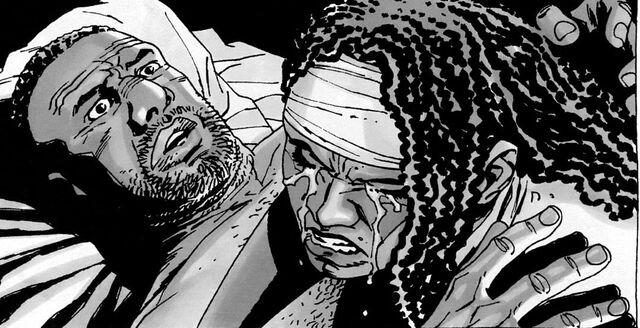 File:Michonne y Tyreese.jpg