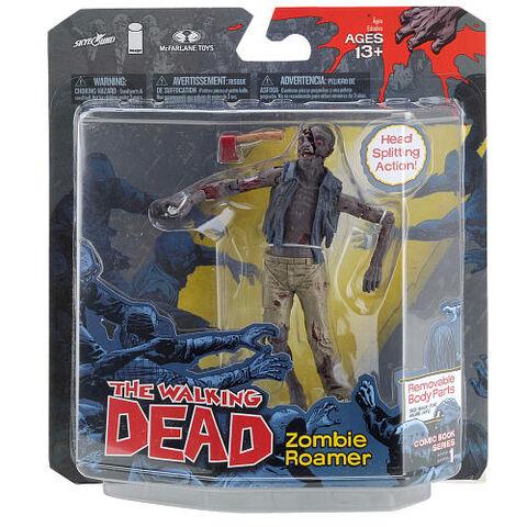 File:The Walking Dead Comic Series 1 5-inch Action Figure - Zombie Roamer box.jpg