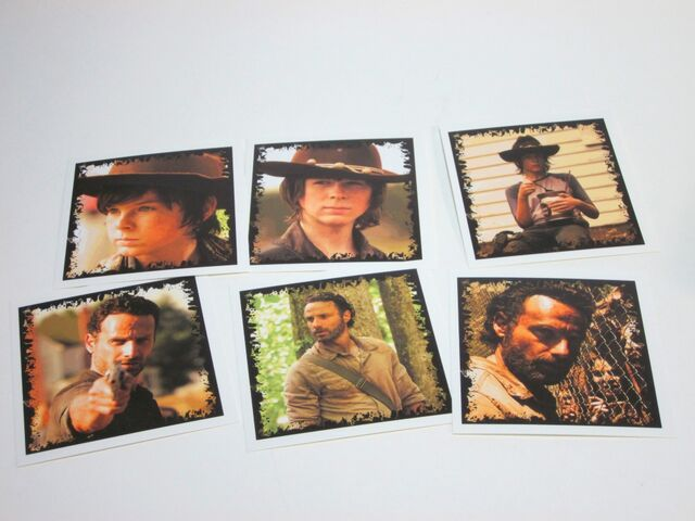 File:Rick and Carl Grimes Character Cards.jpg