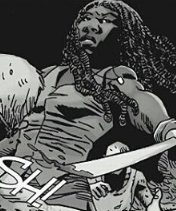 File:Michonne Fighting.png