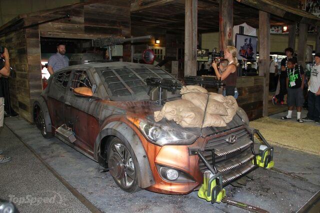 File:2013 Hyundai Veloster Zombie Survival Machine 2.jpg