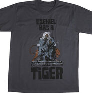 EZEKIEL HAS A TIGER T-SHIRT