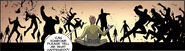 Issue 75 Tyreese, Axel and Martinez killing aliens