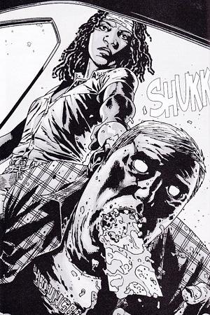 File:Michonne And 1 Walker.jpg