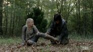 Beth being checked on by Daryl so cute