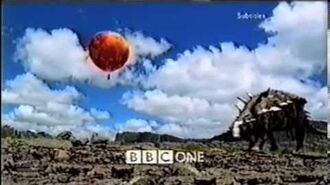 BBC1 Balloon Walking with Dinosaurs ident (Sunday 3rd October 1999)